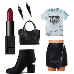 Total Creep by kaycie-marie-surrell on Polyvore featuring polyvore, fashion, style, Alexander Wang, Oasis and NARS Cosmetics