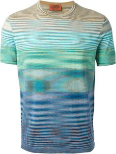 Missoni Psychedelic Striped T-shirt - Luisa World - Farfetch.com