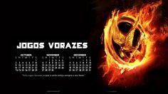 Calendário feito para um fã site de Jogos Vorazes. - 2011