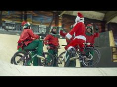▶ Happy Christmas from Mongoose #bmx #video #christmas