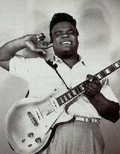 Freddie King listening for the sweet note