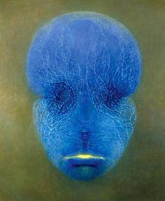 Zdzislaw Beksinski (Polish, 1929-2005) - Untitled