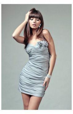 13b6628cfd Robes de Soirèe Model Brigitte Argent Vera Fashion 61438 Suknie Wieczorowe