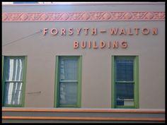 Forsyth-Walton Building, Atlanta, GA | #ArtDeco #preservation