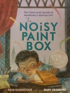 Noisy Paint Box by Barbara Rosenstock hardcover