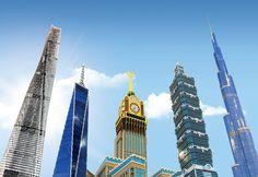 Skyhøje bygninger i Miniland