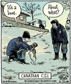 Canadian C.S.I. by Bizarro.