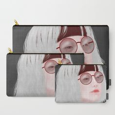 Miss Evie The Witch Carry-All Pouch by yayashi Evie, Carry On, Sunglasses Case, Witch, Illustrations, Etsy Shop, Art Prints, Bags, Art Impressions