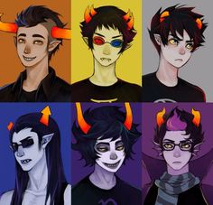 homestuck, equius, and tavros image
