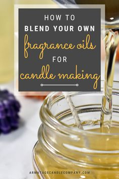 Diy Candles Easy, Making Candles, Diy Fragrance Oil For Candles, Essential Oil Candles, Essential Oils, Homemade Scented Candles, Candle Making Business, Candle Store, Candlemaking