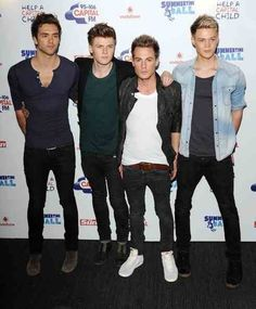 Lawson (from left: Andy Brown, Joel Peat, Adam Pitts, and Ryan Fletcher)