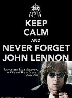 never forget john lennon