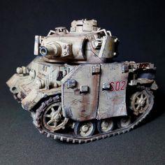 Panzer Iii, Fallout Power Armor, Bubble Tanks, Model Tanks, Weapon Concept Art, Battle Tank, Vinyl Toys, Armored Vehicles, Military Art