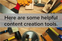 This article from HubSpot gives 16 free tools to help create content. Each are great for different uses and worth the read!