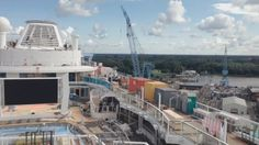 Quantum of the Seas. Photo from August 25 2014 Royal Caribbean reveal.