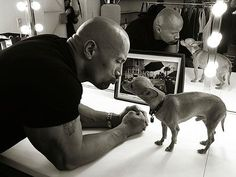 Spotted: The Rock Kisses Up to a Chihuahua love The Rock