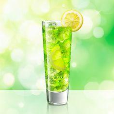 MIDORI Lemon-Lime Soda / MIDORI Lemonade is an easy to make cocktail using MIDORI.