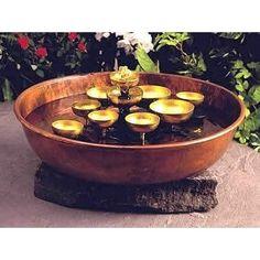 Woodstock Water Bell Tabletop Water Fountain [Kitchen]
