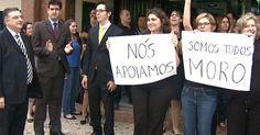 Juízes da Justiça Federal fazem ato em apoio a Sérgio Moro em Campinas
