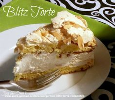Blitz Torte - made quickly from ingredients you already have