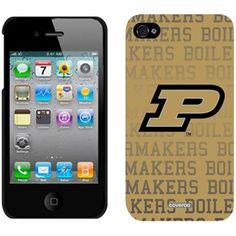 Purdue Boilermakers Full Logo iPhone 4 Case