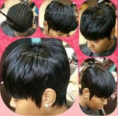 Quick Weave Short Cuts
