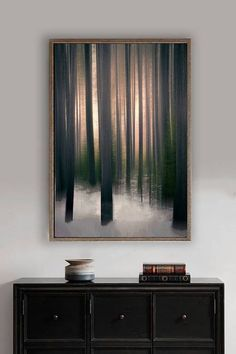 Abstract Tree Art brown tree wall art 8x10 photo forest wall