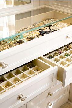 Armário organizador de joias e bijus