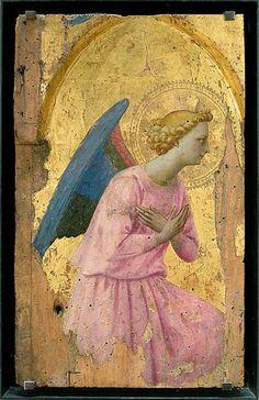 Fra Angélico, Angel en Adoración