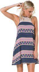 LUCCA MESH PRINT DRESS  Womens  New Arrivals | Swell.com