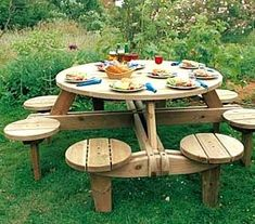 Use these free picnic table plans to build a picnic table for your backyard, deck, or any other area around your home where you need seating. Building a picnic .