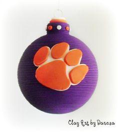 clemson ornament=)