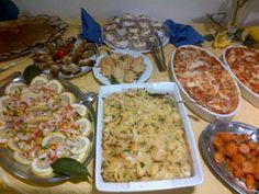 insalata di mare ed altri contorni