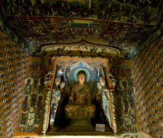 Mogao Grottoes (Caves of the Thousand Buddhas), Dunhuang, China