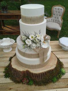 Juta no seu casamento - bolo