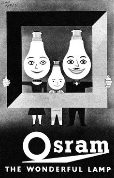 1958 Osram Light Bulbs ad | Flickr - Photo Sharing!