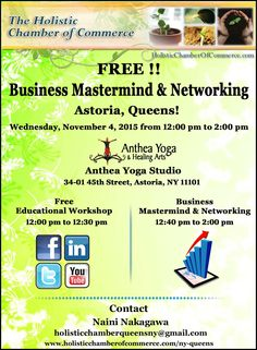 Free Business Mastermind Networking in Astoria is Today ! Join us  Email Registration http://conta.cc/1MpT5JY Facebook Registration http://on.fb.me/1M5QFfx