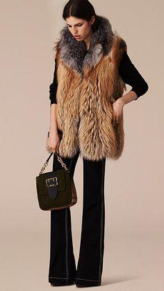 Fox Fur Gilet | Burberry