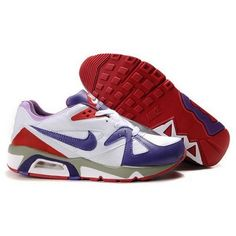 New Arrival Nike Air Max 91 Men White Eggplant Red Shoes $65