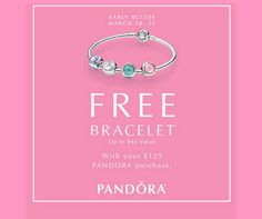 Pre-Sale begins today. Open tomorrow 12pm - 6pm. Pandora and Synchrony credit card holders can take their purchase home. Visit store for details. Shop online and claim your purchase without wait Mar 24th-26th. http://www.miamilakesj.com/promo #MiamiLakesJewelers #Pandorajewelry @MiamiLakesJewelers