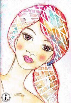 vidriera de colores, de Bienve Prieto