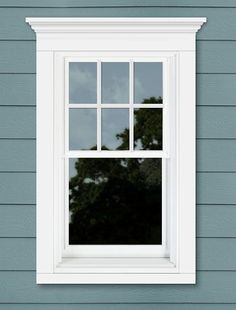25 Astonishing Eksterior & Interior Window Trim Ideas for ...