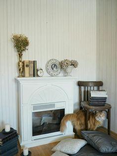 Перекраска, камин, новая жизнь старых вещей, перекраска камина, электрокамин, декор, декор дома, старая мебель, своими руками
