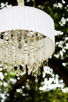 New diy outdoor chandelier lamp shades ideas Chandelier Lamp Shades, Old Lamp Shades, Shabby Chic Lamp Shades, Outdoor Chandelier, Chandeliers, Outdoor Lighting, Solar Light Crafts, Solar Lights, Fresco