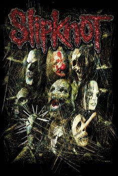 This is an image of Slipknot who are an extremely popular metal band from Iowa.  They relate to my magazine as I am writing an article talking about them coming to Belfast to play in the SSE Arena