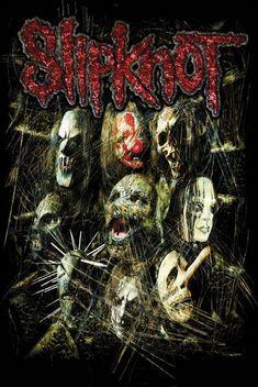Slipknot Posters   Home - Slipknot Masks Poster
