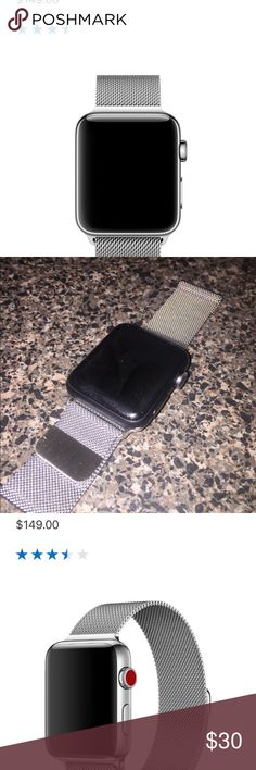 Like New Milanese 42mm Apple Watch Band Like New Milanese 42mm Apple Watch Band Apple Accessories Watches