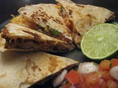 Grilled ChickenQuesadillas