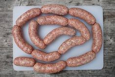 Domácí klobásky Kielbasa, Russian Recipes, How To Make Cheese, Smoked Paprika, Queso, Hot Dogs, Sausage, The Cure, Pork