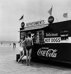 Refreshment Stand - Berenice Abbot 1954